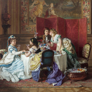 A TOAST TO THE BETROTHED