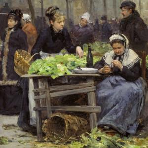 UN MARCHÉ PARISIEN