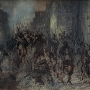 A SCENE FROM THE SIEGE OF PARIS