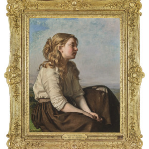YOUNG PEASANT GIRL (UNE JEUNE FILLE DES CHAMPS)