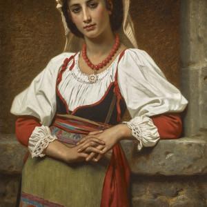 YOUNG ITALIAN GIRL