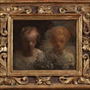 TETES D'ENFANTS (HEADS OF TWO CHILDREN)