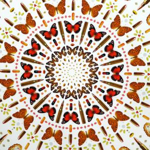 Iain Cadby, Autumn Mandala, 2019