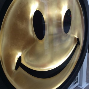RYCA (Ryan Callanan), Metric Powerpill (Gold Leaf Smiley Face) , 2020