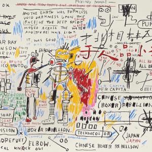 Jean-MIchel Basquiat, Boxer Rebellion , 2018
