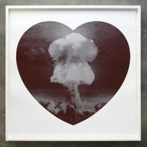 Iain Cadby, Love Bomb (Chocolate and Silver), 2019