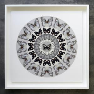 Iain Cadby, Target Mandala (Ash Grey) *SOLD*, 2020