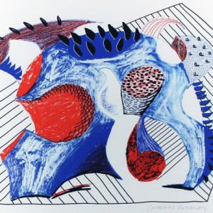 david hockney, Untitled, for Joel Wachs *SOLD*, 1993