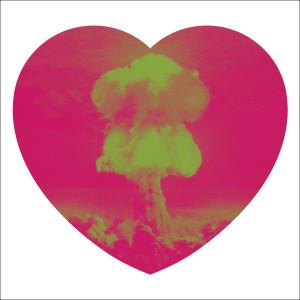 Iain Cadby, Love Bomb (Raspberry and Lime), 2019