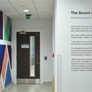 Sinta Tantra, The Sound of Colours, St Paul's Way Medical Centre, London, 2017