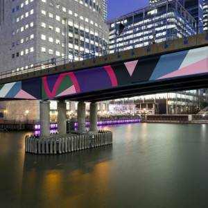 Sinta Tantra, A Beautiful Sunset Mistaken, Canary Wharf London, 2012