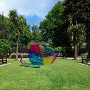 Sinta Tantra, Eccentricity of Zero, Holland Park, London, 2013
