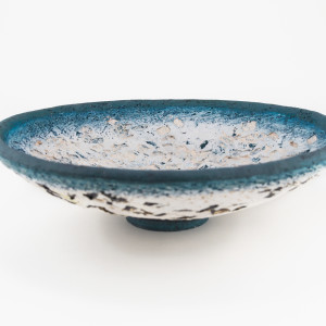 Paula Downing, Blue 'Gem' Plate