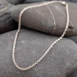 Marsha Drew, Thin Double Link Chain 18'