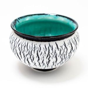 Hugh West, Black Crackle Bowl