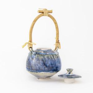 Hugh West, Bamboo Handled Lidded Jar