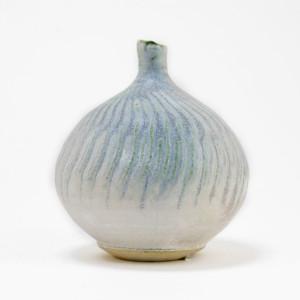 Hugh West, Blue Grey Bottle Vase