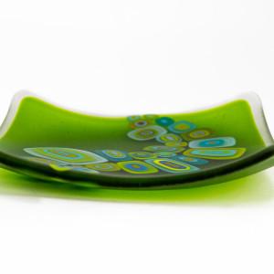 David Pascoe, Square Allsorts Dish Spring Green