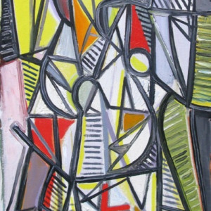 Caziel, WC645 - Abstract Composition, 1945