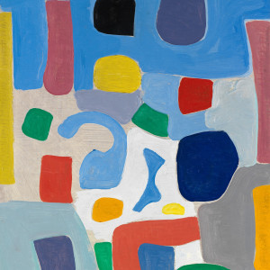Caziel, WC771 - Composition, c. 1965