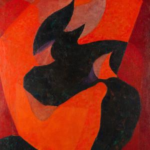 Joseph Lacasse, Méditation, 1947