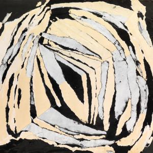 Reinhold Koehler, THORAX - Décollage Positiv-Negativ 1960/XII, 1960