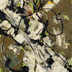 Frank Avray Wilson, FAW858 - Interactions Green (Miniature), c. 1955