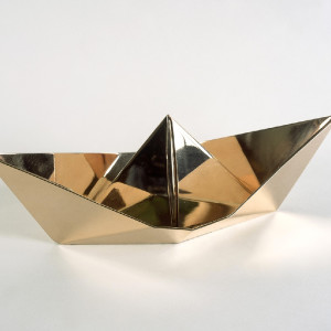 Clive Barker, Origami Boat, 2010