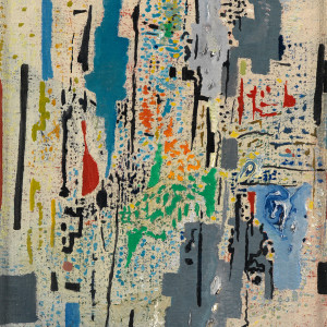 Caziel, WC548 - Composition X/1965, 1965