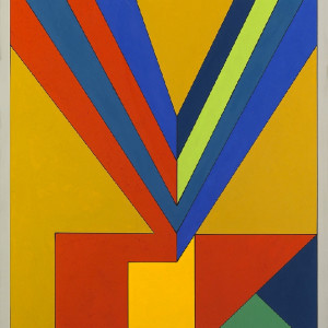Guy Vandenbranden, Abstract Composition, 1973
