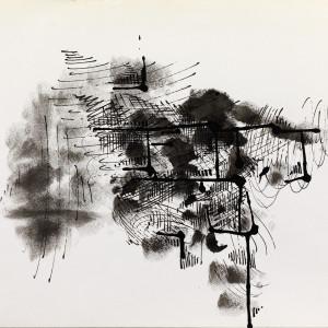 Paul Van Hoeydonck, PVH064 - Composition, 1961