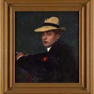 Adolf Heller, A Young Dandy, 1905