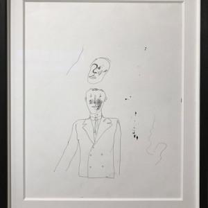 David Hockney, Peter Crutch Ink on Paper Original David Hockney, 1962