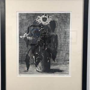 Hockney, David, Sunflower I, 1995