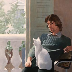 David Hockney, 'Mr and Mrs Clark and Percy' 1970-71, 2019