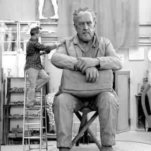 Seated Figure (in progress), 2016