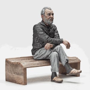 Maquette for John (Seated), 2014