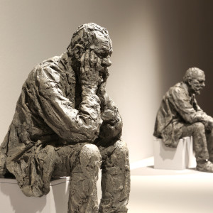 Seated Man Maquette 2 (from a set of 3), 2016