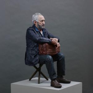 Seated Figure (Working Model), 2018