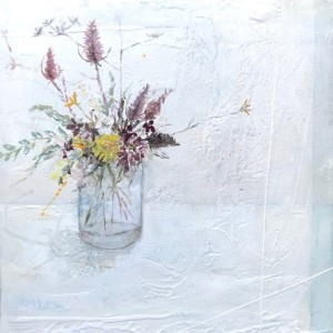 Jane Skingley, Teases and Hedgerow Flowers, 2019