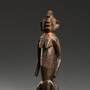Image of Gurunsi Figure turned three quarters to the left