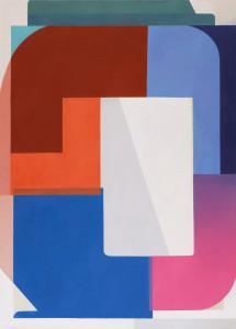 Bernhard Buhmann Captain, 2017 Oil on canvas 200 x 145 cm78 3/4 x 57 1/8 in