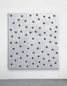 David Austen Black Stars, 2007 Oil on flax canvas 167.6 x 152.4 cm
