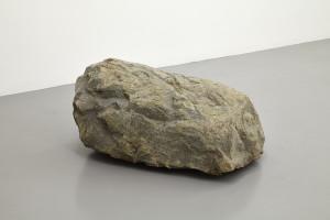 Alicja Kwade Stellar Day, 2013 stone, motor, cable stone: 90 x 70 x 45 cm motor: 40 x 12.5 x 40 cm