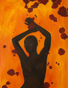 Daniela Yohannes, Subterranean, 2019. Courtesy of the Artist and Addis Fine Art