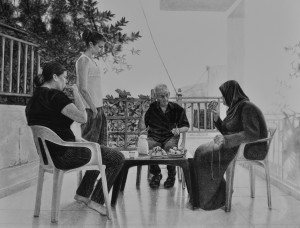 Samah Shihadi, Conversation , 2018