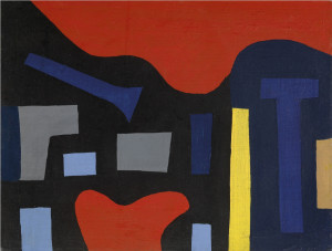 Caziel, WC230 - Composition no. 25, c. 1951