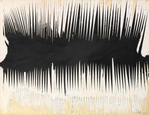 Reinhold Koehler, Décollage Gravé 1962 V/1, 1962