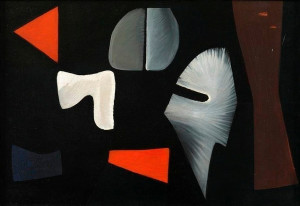 Caziel, WC220 - Composition no. 38, 51.IX, 1951
