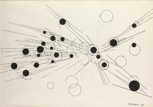 Paul Van Hoeydonck, PVH122 - Composition, 1958